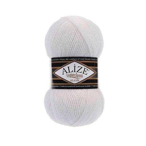Alize Superlana Klasik White 55