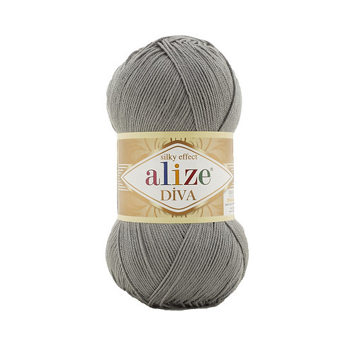Alize Diva Coal Grey 87