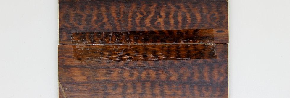 Schlangenholz-Schalenpaar 16c