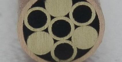 Mosaikpin 5mm -  Kupferrohr