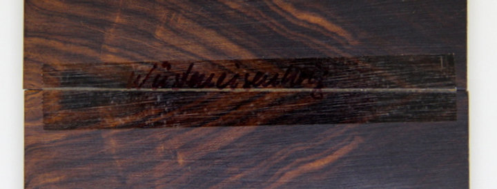 Wüsteneisenholz-Schalenpaar 15
