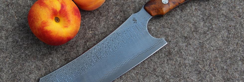 8. Kurs für ein Küchenmesser aus rostfreiem Damast