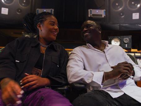 Ludmilla entra em estúdio com Akon