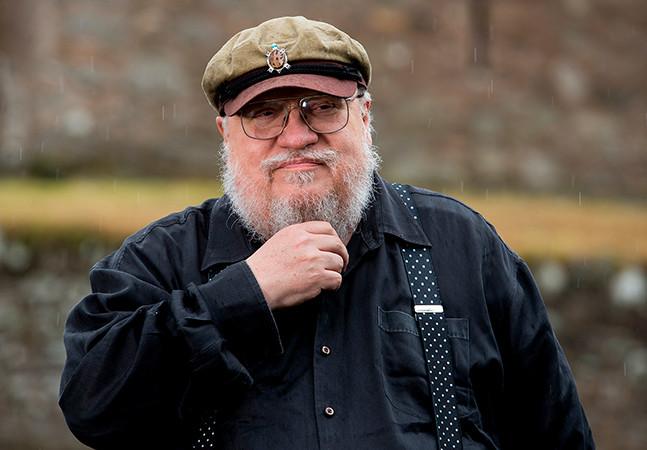 George RR Martin diz que se arrepende de ter deixado a série 'Game Of Thrones' avançar sem livros