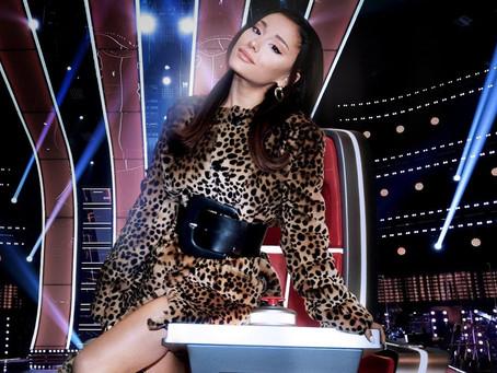 Ariana Grande receberá maior cachê da história do 'The Voice'