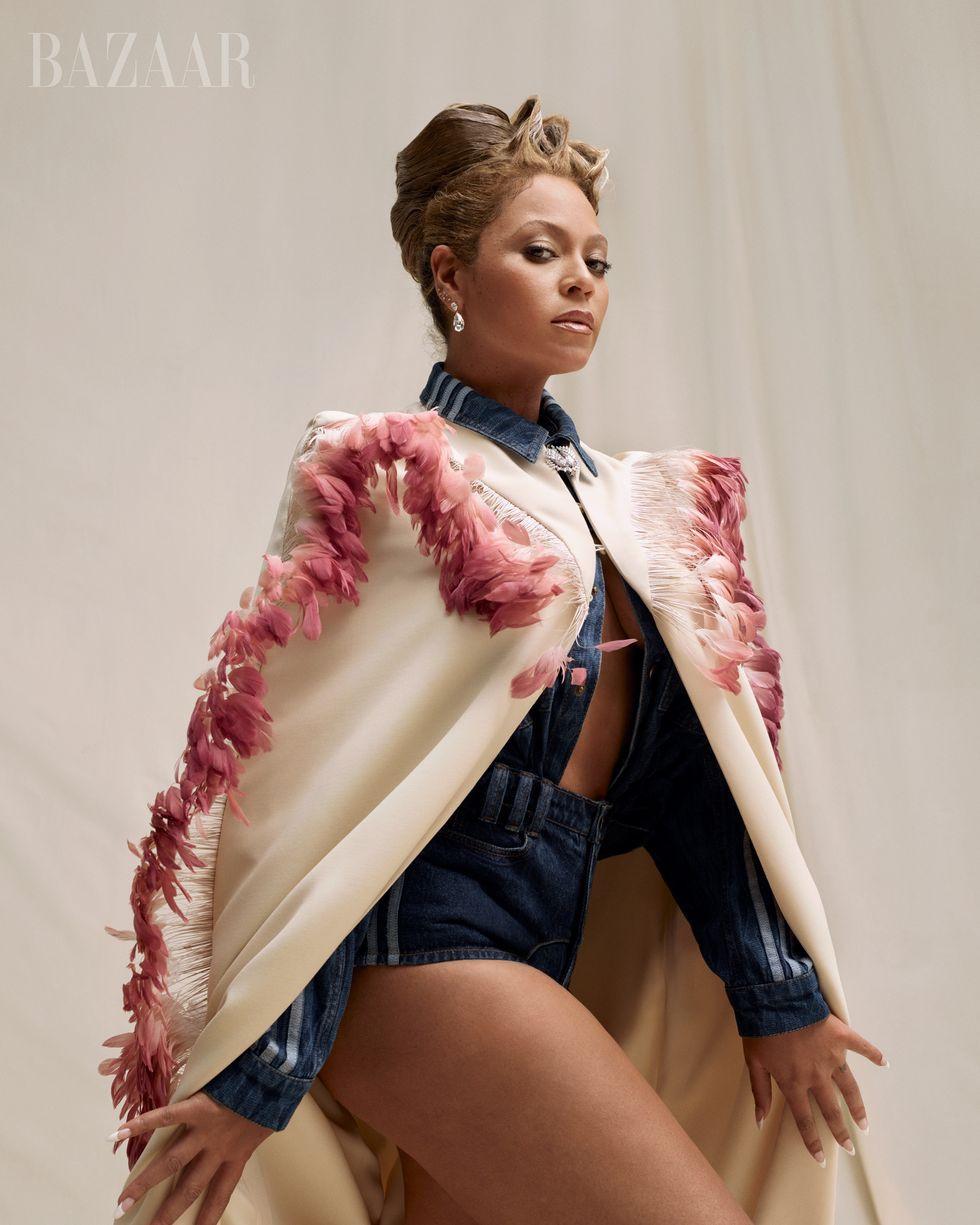 Beyoncé maquiagens harpeers bazaar