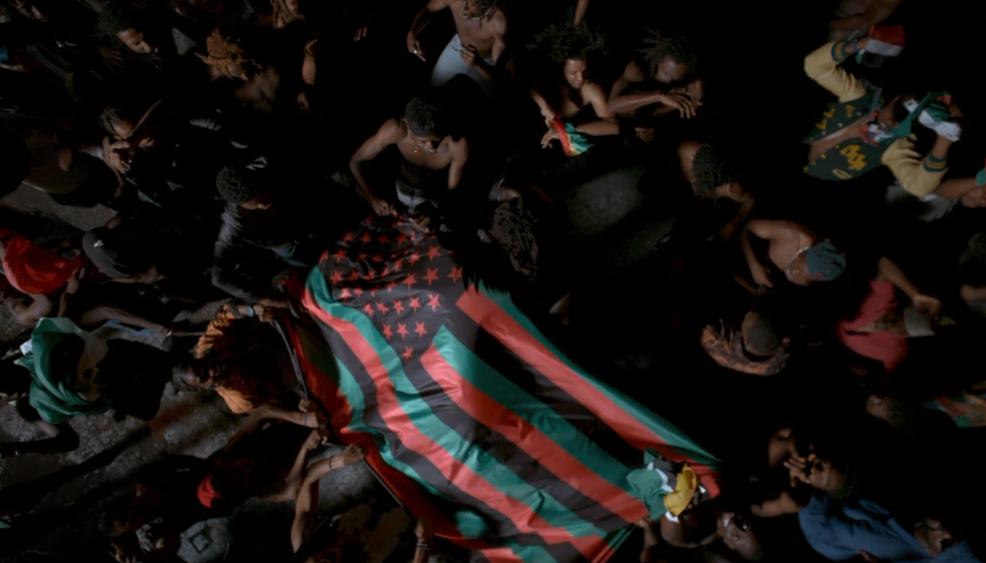 Bandeira Pan Americana Black Is King Beyonce