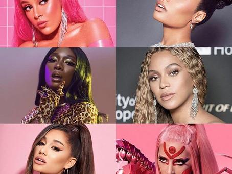 Lady Gaga, Ariana Grande, Beyoncé e Nicki Minaj fazem história na Billboard HOT 100!