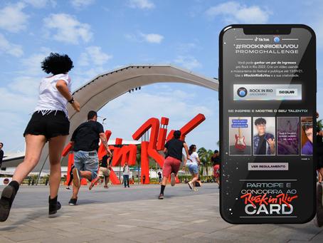 Rock in Rio e TikTok anunciam parceria que premiará 50 usuários com o Rock in Rio Card