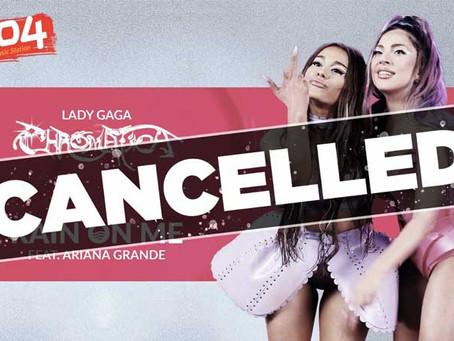 Rádios da Irlanda banem 'Rain On Me' de Lady Gaga e Ariana Grande após chuvas no país