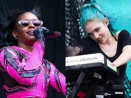 Grimes diz que sua nova música é sobre derrotar Azealia Banks: 'Ela tentou destruir minha vida'