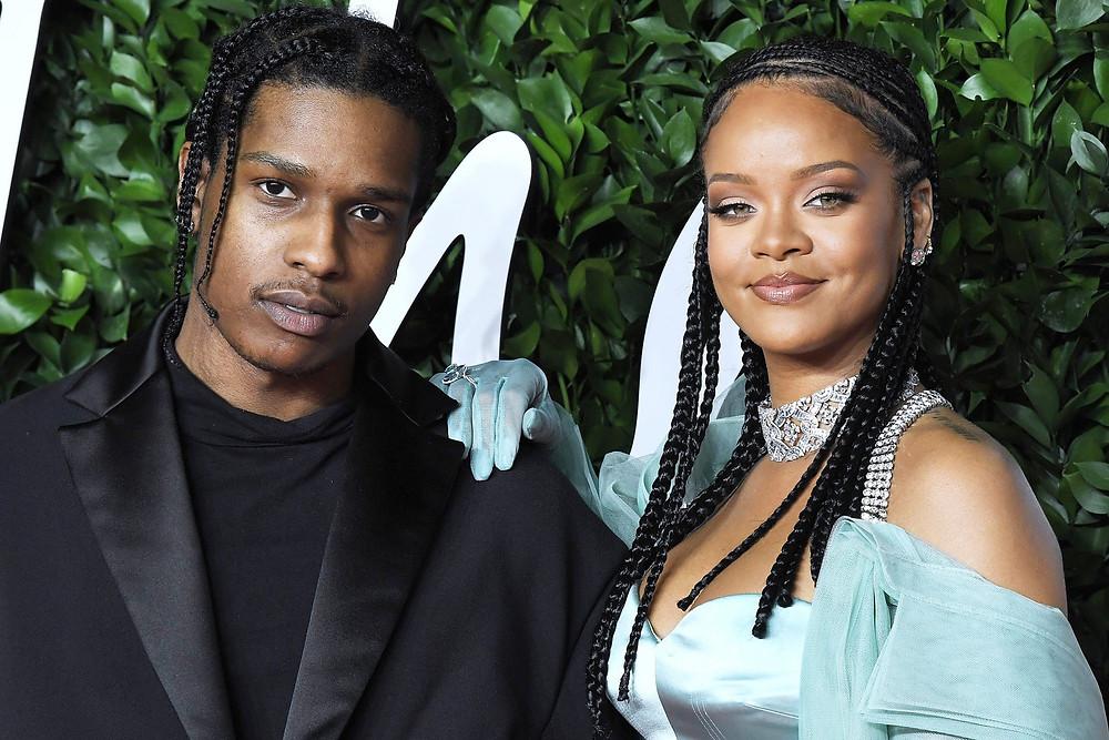 Rihanna e A$AP Rocky estão namorando, afirma Revista People