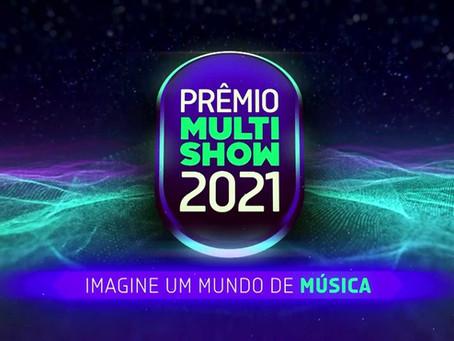 Multishow anuncia detalhes e indicados ao Prêmio Multishow 2021