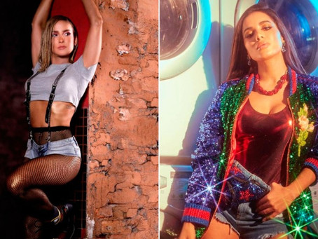 Anitta e Claudia Leitte, histórias internacionais que se assemelham