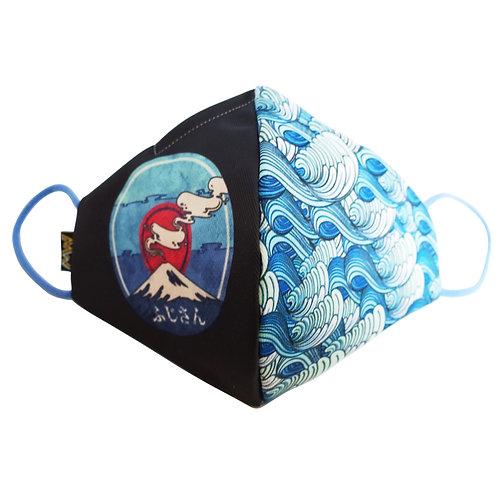 富士山布口罩