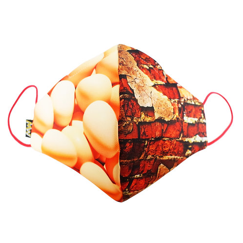 雞蛋vs高牆布口罩