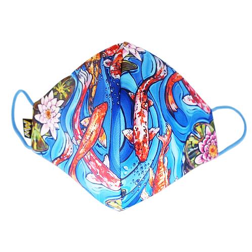 錦鯉布口罩
