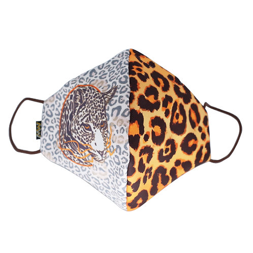 豹紋布口罩