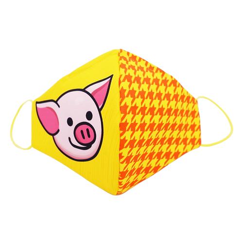 連豬布口罩