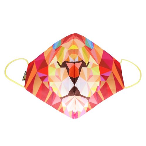 獅子造型布口罩