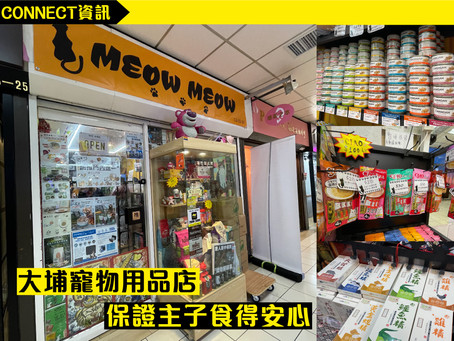 【Connect商戶情報︱Chat with Meow Meow】
