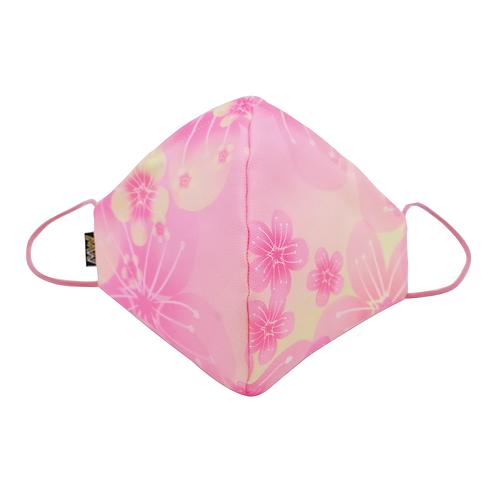 櫻花粉紅布口罩