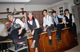 Mary Poppins Returns Video Shoot