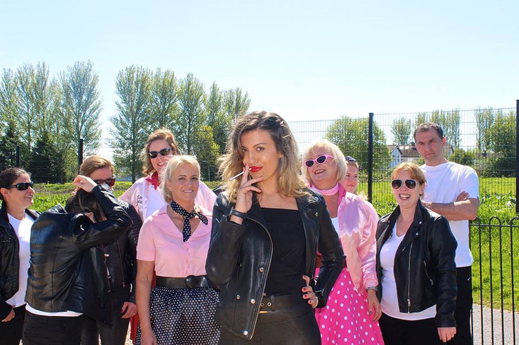GREASE Video Shoot