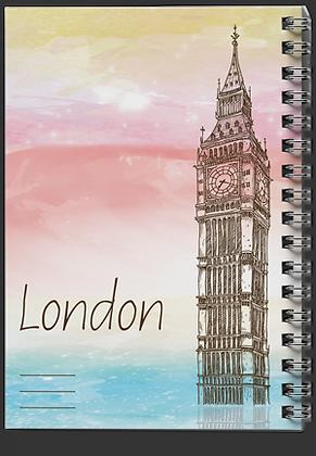 מחברת ספירלה ארצות / לונדון