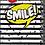 Thumbnail: מחברת ספירלה שחור לבן / סמייל