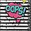 Thumbnail: מחברת ספירלה שחור לבן / אופס