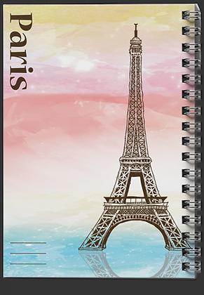 מחברת ספירלה ארצות / פריז