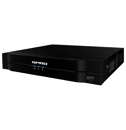 SPRO A3 4-Channel 8MP NVR (PoE/IP)