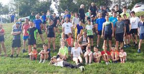 Durant l'été, L'entrainement des Jeunes se poursuit les Lundis et Jeudis à 17h