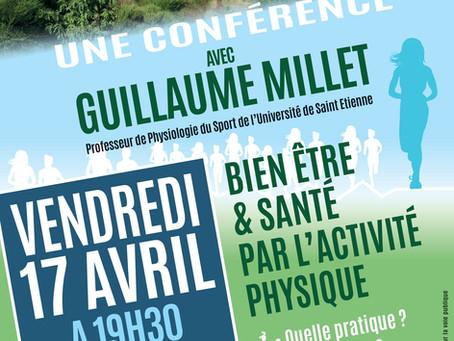 Conférence Guillaume Millet Annulée et Reportée en fin d'Année 2020