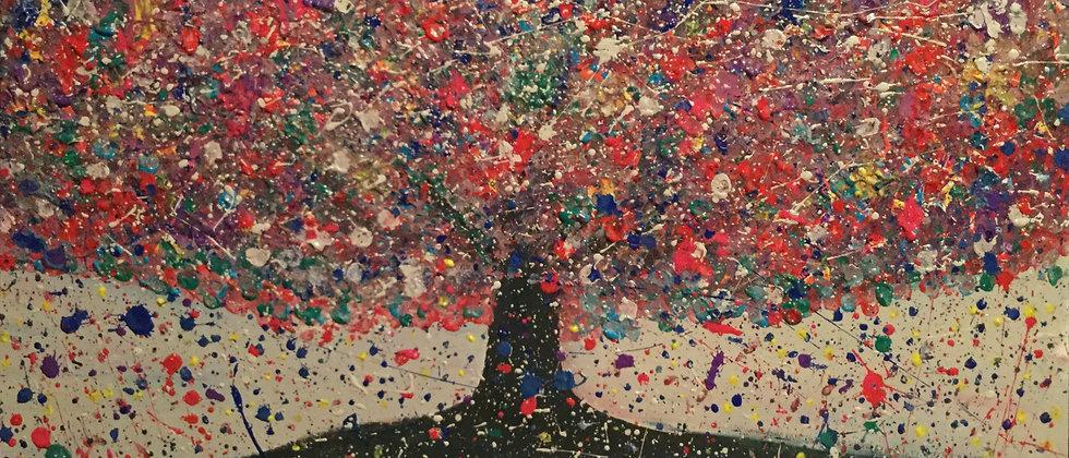 """Rainbow Soul Tree Abstract"""