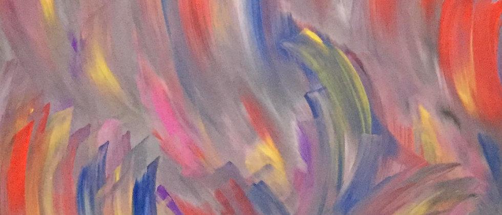 """Color Me"" An Original Painting"