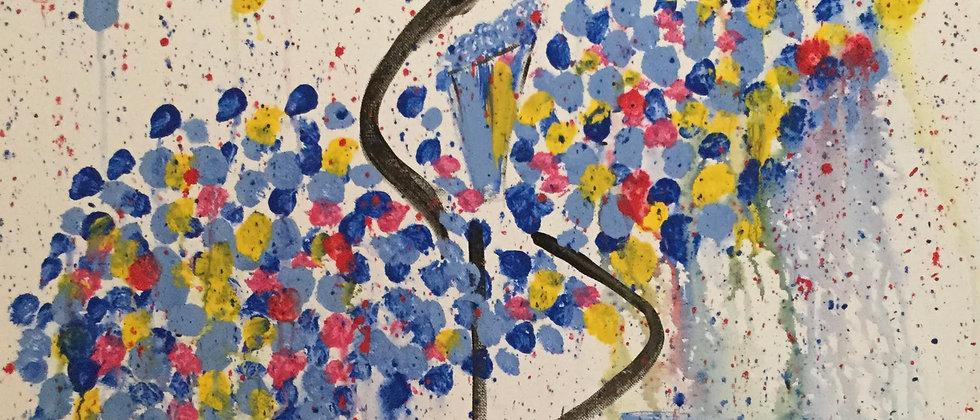 """Dancer"" An Original Painting"