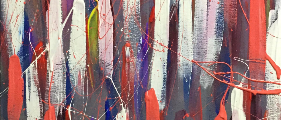"""""""City Abstract"""" An Original Painting"""