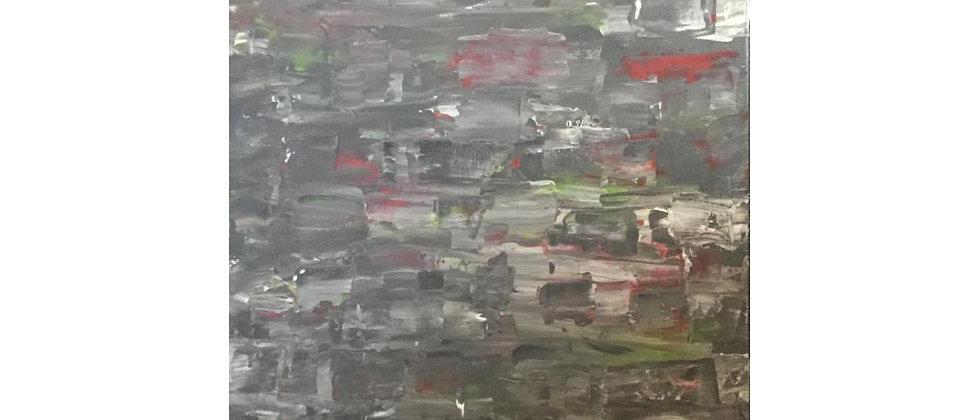 """Rainy Days and Sunday's"" An Original Painting"