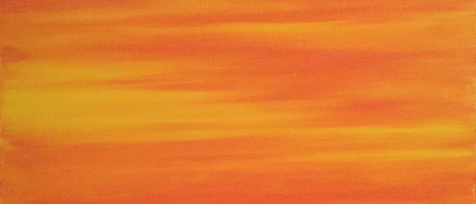 """Tequila Sunrise In Cabo"" An Original Painting"