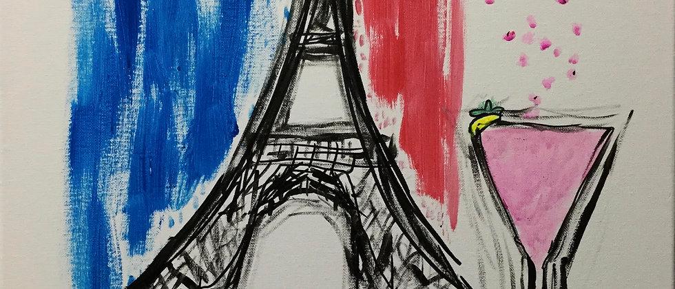 """""""Ce Est La Vie"""" An Original Painting"""