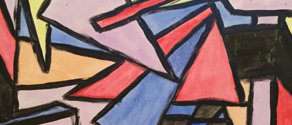 """""""Shapes Abstract No. 19"""""""