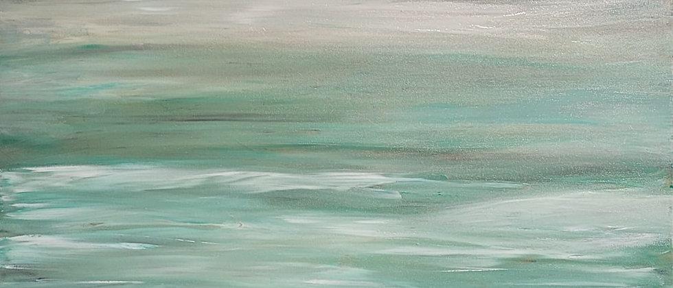 Memoriam Hamptons NY Seascape in Abstract