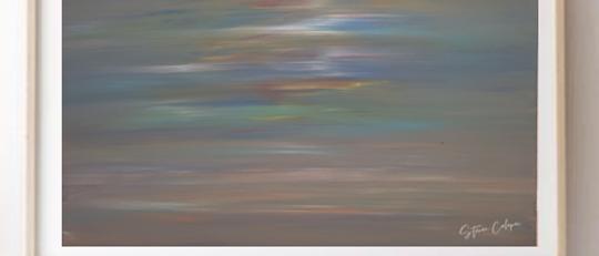 """""""Rainbow Sky Over Cooper's Beach"""""""