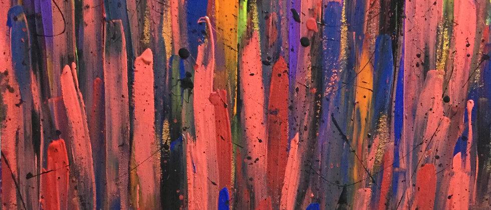 """City Abstract No. 17"" An Original Painting"