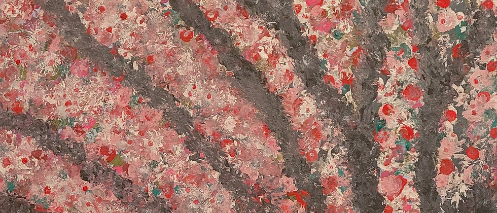 """""""Blossoms Collection No. 19"""" An Original Painting"""