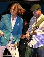 Booked Headliner Charity Beneifit Constantine Maroulis With NY Yankee Legend Bernie Williams