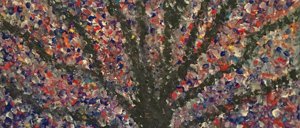 """""""The Tree of Color and Light"""" An Original Painting"""
