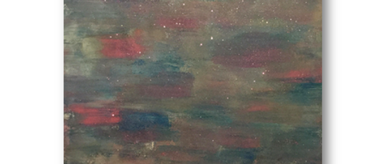 """""""Touch of Stardust"""" An Original Painting"""